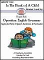 Hands of a Child:  Grammar Lapbook