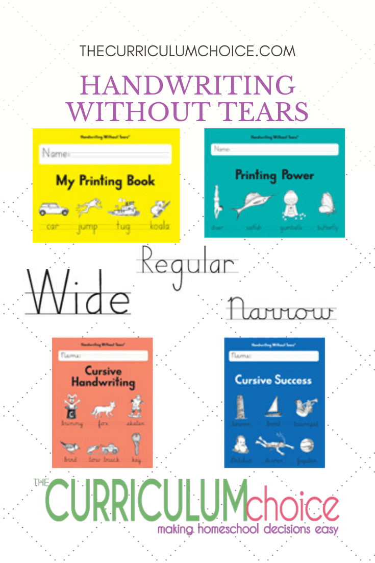 Handwriting Without Tears is a no-fuss program created by an occupational therapist that is simple to use! It is very affordable. The teacher guides are simple but do provide plenty of instructions, tips, activities, and lesson plans.