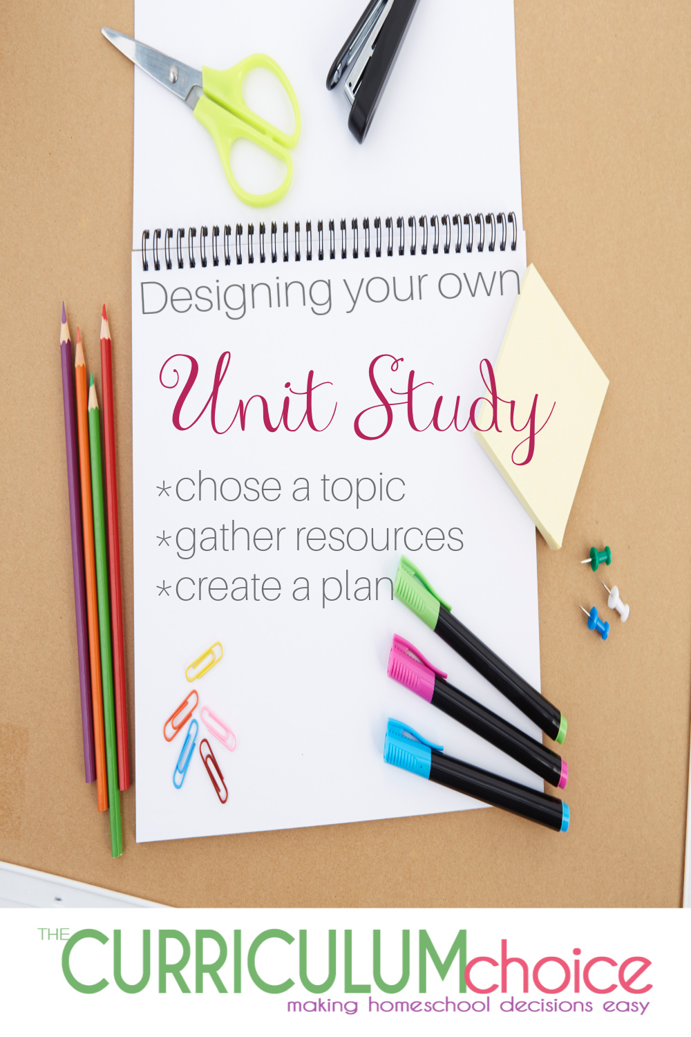 Designing Your Own Unit Study creates a tailor made learning experience and a rich, meaningful way of learning for your homeschool. And it's not as hard as you might think! Come along and learn how you can get to creating your own homeschool unit studies.