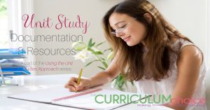 Unit Study Documentation & Resources offers ideas for record keeping as well as places to find good unit studies for your homeschool.