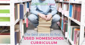 The best places to find... Used Homeschool Curriculum from The Curriculum Choice offers up resources for saving money on homeschool curriculum by not buying brand new.