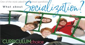 One of the most asked homeschool questions... What about socialization? The most asked homeschool question. Find out some ways to respond when you are asked this question.