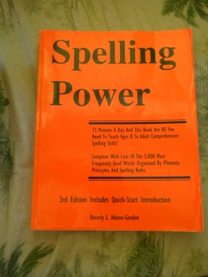Spelling Power cover