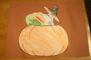 Pumpkin w/Scripture