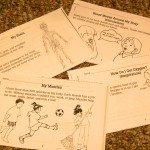 Booklet Activities to Color