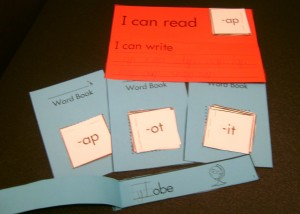 Short Vowel Word Family Booklets