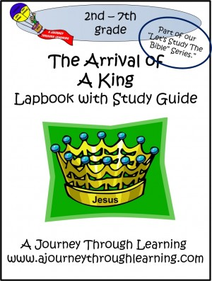 A Journey Through Learning-The Arrival of a King Lapbook
