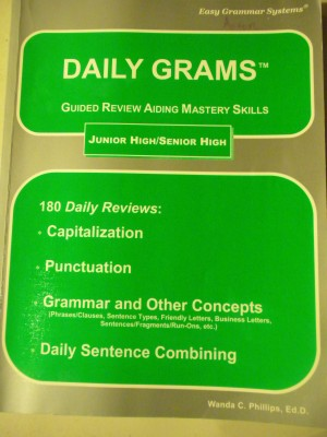 Daily GRAMS-Junior High/Senior High Level
