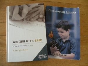 A Little Classical Teamwork:  First Language Lessons and Writing with Ease