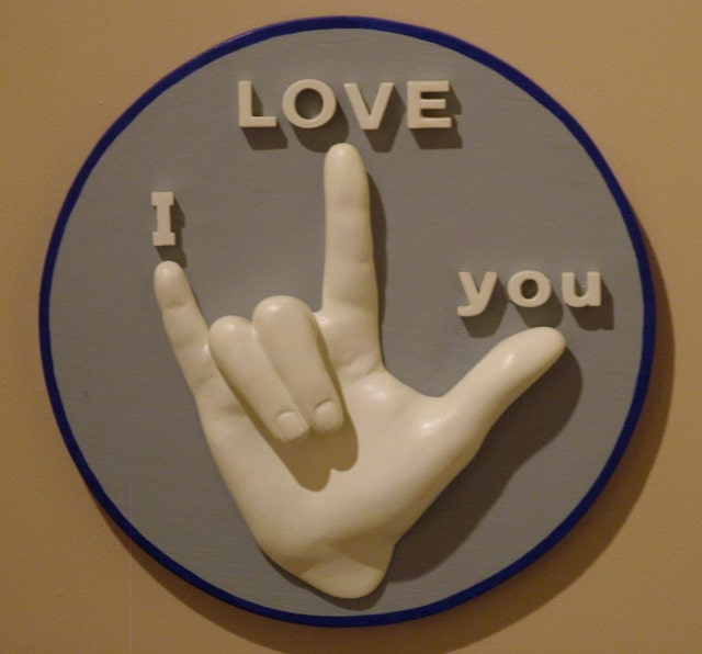 I Love You In Asl The Curriculum Choice