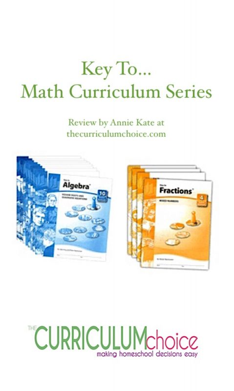 As a physicist, I understand, somewhat, the nature of mathematics. It's actually a language, and children can benefit from being taught it as a language. One wonderful resource, the Key to… Math Curriculum Series, has been a part of our math program for more than eight years now.