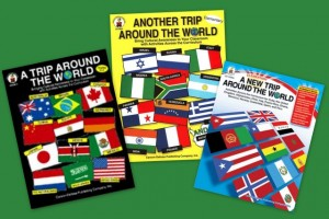 A Trip Around the World in Three Books