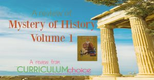 Mystery of History Volume 1 is a complete, chronological history of the world, which combines both secular and Biblical history. A review from The Curriculum Choice.