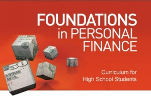 Foundations in Personal Finance Curriculum