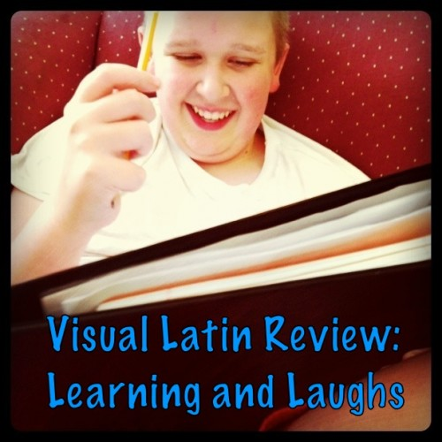 Warning. The free Visual Latin lessons you may download and watch will have you hooked. Watch them with your children only if you want to hear… Laughter.