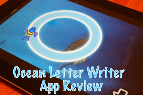 Ocean Letter Writers App Review at The Curriculum Choice
