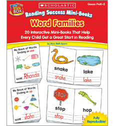 Reading Success Word Families