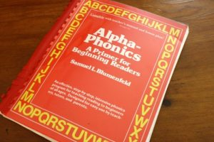 Basic. Simple. Long-lasting. Used with all of our five children to learn how to read. The phonics book that has been the go-to teaching tool in our family. Alphaphonics by Sam Blumenfeld is a full, logical resource for teaching students of all ages to learn to read.