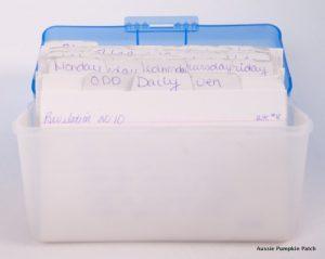Scripture Memory Box
