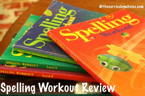 Spelling Workout is the basic, thorough spelling program we have needed for spelling success. What we have used all our homeschool years.
