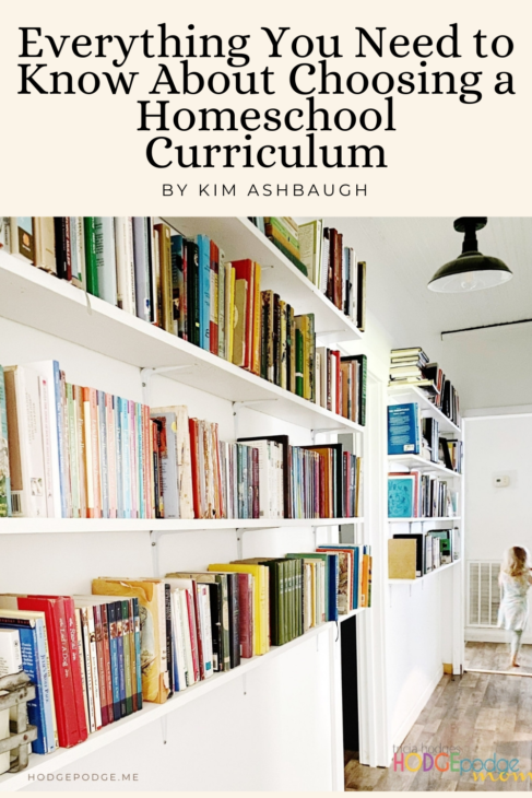 Everything you need to know about choosing a homeschool curriculum