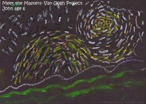 Meet The Masters Van Gogh Track A