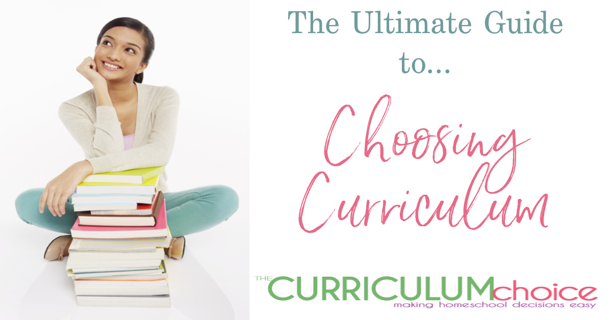 In this Ultimate Guide to Choosing Homeschool Curriculum you will find all the advice and tips on Choosing Curriculum from our veteran team of homeschoolers both past and present here at The Curriculum Choice.