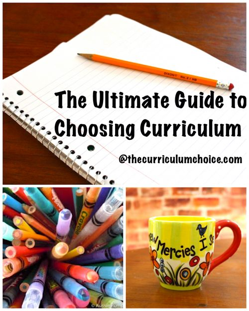 This Ultimate Guide to Choosing Homeschool Curriculum comes alongside you, offering homeschool advice and wisdom from our veteran team of homeschoolers.