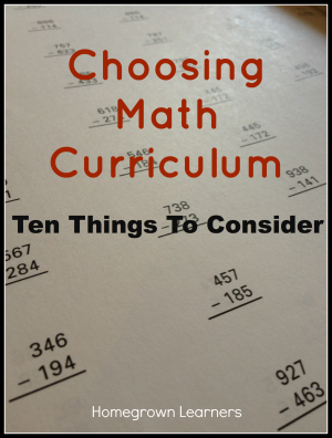 choosingmathcurriculum