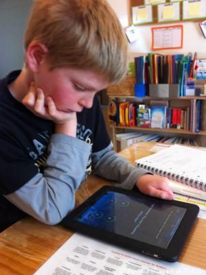 Math Splash iPad App Grade 5