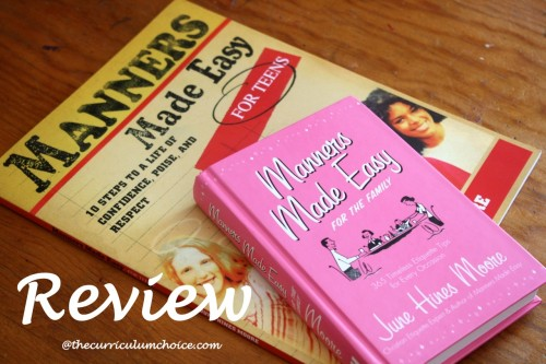 Manners Made Easy + Manners for Teens Review at Curriculum Choice