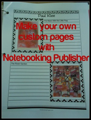 The Notebooking Publisher from NotebookingPages.com