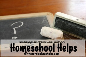 Homeschool Helps from Curriculum Choice Authors