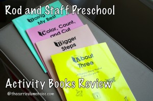 Rod and Staff Preschool Activity Books Review