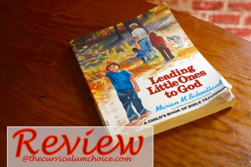 Leading Little Ones to God Review at Curriculum Choice