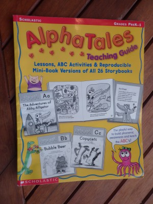 Introduce the A,B,C's with The Big Book of Alpha Tales – My Review
