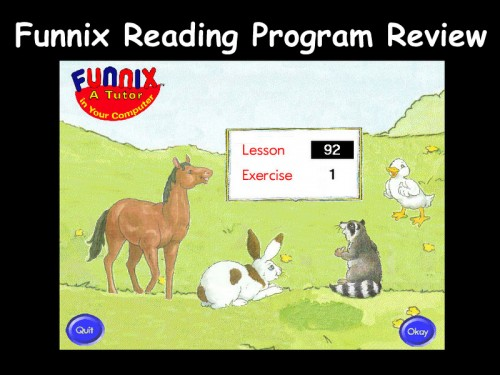 Funnix Reading Program Review