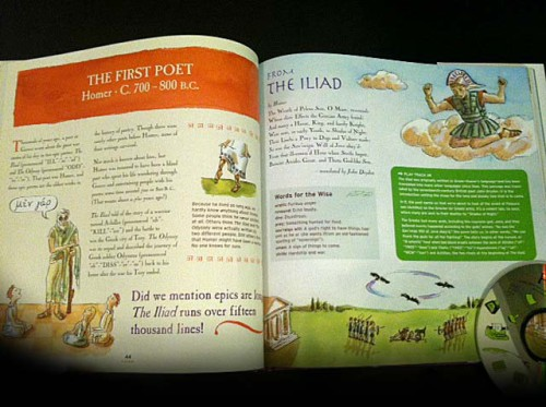 The book is packed full of artwork and instruction tidbits for doing a little here and a little there. So you can break the book down into many mini lessons!