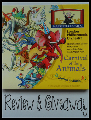 Maestro Classics- Carnival of the Animals Review and Giveaway