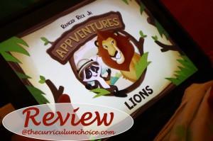 Ranger Rick Jr. AppVentures Lions App Review