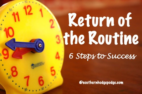 Return of the Routine at Southern Hodgepodge