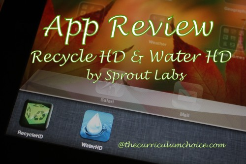 Water Cycle HD and Recycle HD Apps by Sprout Lab