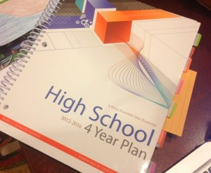 High School 4-year Planner by Well Planned Day