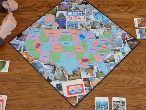 Playing Snapshots Across America
