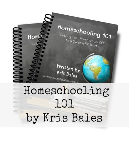 Review: Homeschooling 101 by Kris Bales