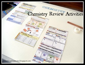 chemistry review- Gentle Shepherd