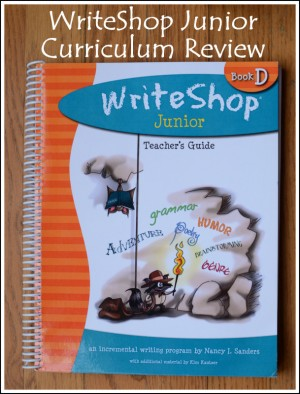 WriteShop Junior Curriculum Review