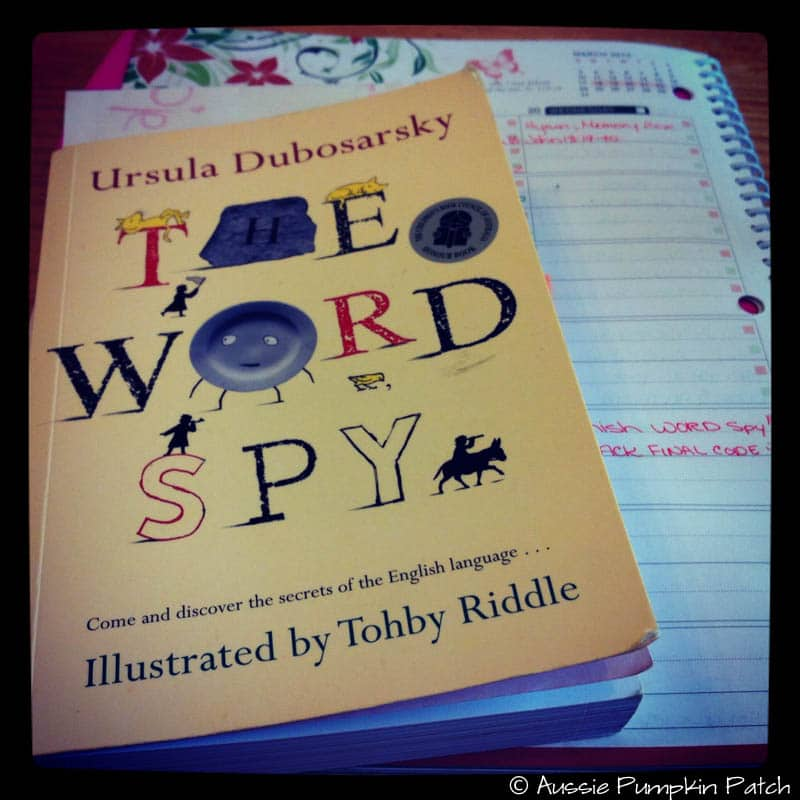 One day while wandering the aisles of the children's library with my boys I came across a book entitled The Word Spy. It caught my attention on so many levels – I snatched it up and started reading through it. It's beautifully written, captivating and downright funny.