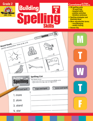 Evan-Moor Building Spelling Skills Review - The Curriculum
