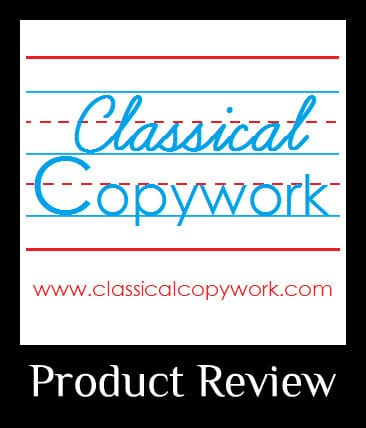 Classical Copywork Review